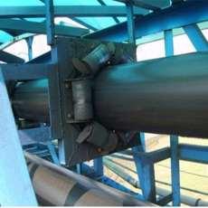 管帶輸送機輸送各種塊狀物料 移動式