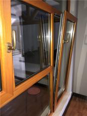 北京铝包木窗-思耐铝木门窗-纱窗一体窗价格