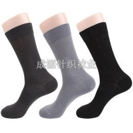 广东针织袜业厂订做生产休闲男袜 皮鞋袜