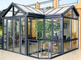 洛陽專業隔音玻璃門窗安裝 斷橋鋁平開窗