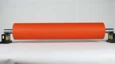 平頂山聚氨酯膠輥 海帕隆膠輥 硅膠輥定制