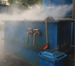 干雾抑尘装置使用说明书微米级干雾抑尘设备