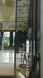 KTV会所酒店大堂镜面不锈钢屏风新款直销