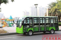 江苏南京观光游览车14座封闭电动观光车销售