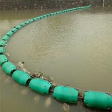 水上漂浮植物拦截浮筒浮式拦污漂价格