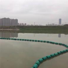 海上挡渣塑料浮筒聚乙烯拦污漂批发