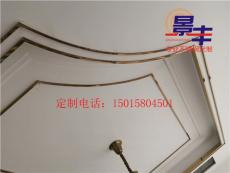 定做大厅天花装饰线条 不锈钢弧形U型装饰线