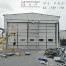 镇江化工厂大型柔性堆积门