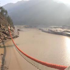 河道拦污装置浮式拦污漂排批发