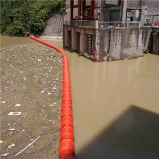 一体式塑料浮筒水上拦污漂排批发
