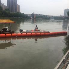 河道自动拦污装置塑料拦污浮筒厂家