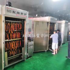 腊肉烟熏炉  诸城振霖机械500全自动烟熏炉