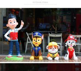 深圳玻璃钢动漫总动员卡通公仔雕塑厂家