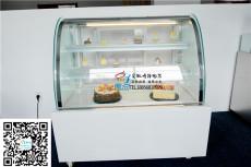 單弧形蛋糕櫃后開門冷藏展示櫃低溫西點慕斯