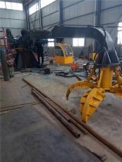 自产自销抓钢机 园林抓木机 机械抓手起重机