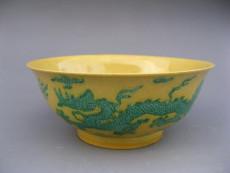 明正德黄釉碗近日拍卖去哪里