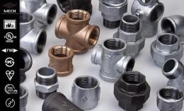 迈克管件平阴玛钢水暖管件厂家直销