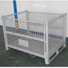 江苏厂家直供焊接周转箱铁皮金属周转箱