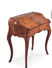 0749 18世紀末 法國路易十五寫字臺