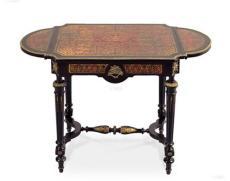 0755 19世紀初 法國拿破侖三世小桌