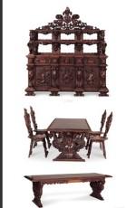 0743 18世紀末 意大利文藝復興時代餐廳套裝