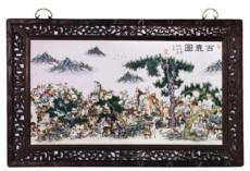 王跃林瓷板画的价格行情怎么样