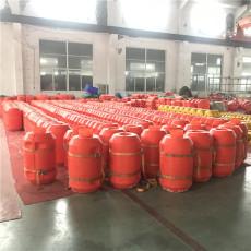 漂浮物拦截浮筒聚乙烯拦污浮排设备