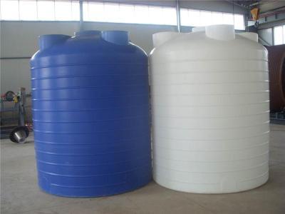 蓝色搅拌滚塑15立方储罐可食用PE水箱