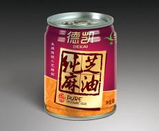 重庆火锅油碟包装设计 拉罐芝麻油亚美设计