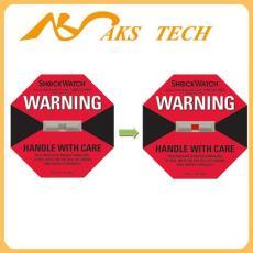 北京防震标签_shockwatch红色50G L-47标签