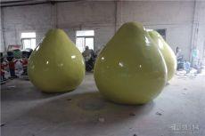 广西玻璃钢仿真绿柚雕塑价格定制厂家