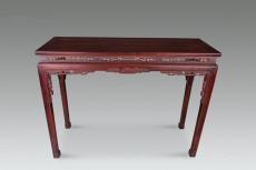 去哪里可以鉴定红木条桌的价格