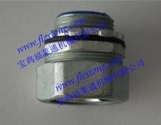 广州锌合金镀锌接头/M32x1.5端式锌合金接头