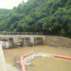 柏泰水电站拦污浮排浮式拦污漂加工