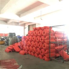 柏泰电厂拦污浮筒拦截漂浮物装置