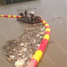 汛期拦污漂浮筒圆柱体拦漂排装置