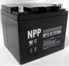 耐普12V系列蓄电池NPP电池铅酸蓄电池