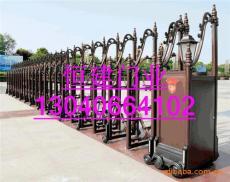 厂家批发供应 铝合金电动伸缩门 价格从优