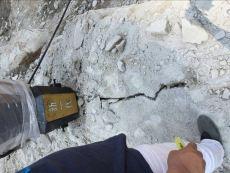 石料开采液压胀裂撑石机汉中使用现场