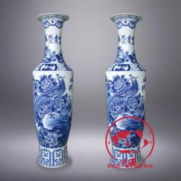 乔迁礼品陶瓷花瓶,景德镇陶瓷花瓶