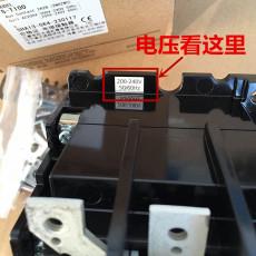 三菱电机220V交流接触器S-N800