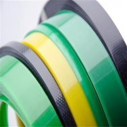 供应PET高透明绿色环保塑钢带回收承载力大