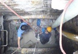 北桥污水管道淤泥清理、污水井清理