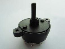 厂家供应带耳朵MFR01,45度0到10档旋转开关