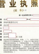北京國企背景基金管理公司