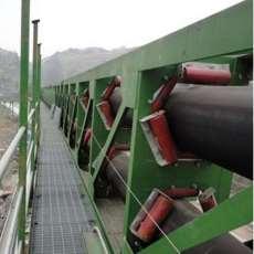 圓管帶式輸送機爐渣專用 密封
