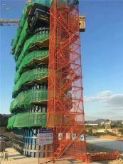 武漢安全梯籠 框架式梯籠爬梯護籠通達廠家