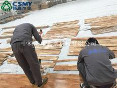 概括一个运动地板厂家的业绩可以用实际安装