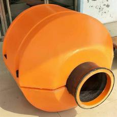 组合式抱管浮体抽沙管浮桶尺寸