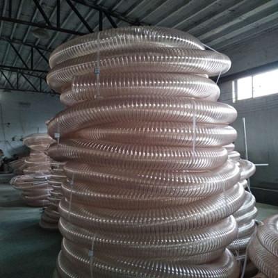 河北PU钢丝伸缩管能当保护管聚氨酯风管厂家